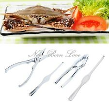 Stainless Steel Crab Cracker Set Nut Seafood Shell Shellfish Fish Crab Lobster