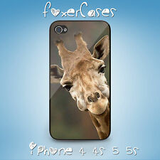 Unique Fun Vintage Classic Zoo Animal Giraffe Case for iPhone & Samsung Galaxy