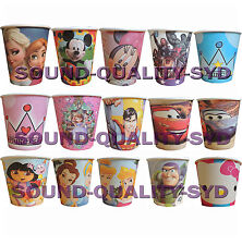 PK8 THEMED 9oz PARTY PAPER CUPS KIDS BIRTHDAY PARTY SUPPLIES