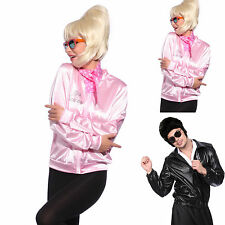 50s Grease T-Bird Danny T Bird / Pink Ladies Jacket Costume Fancy Dress