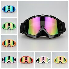 Motocross Sports Off-Road  ATV Dirt Bikes Motorcycle Goggles Eyewear Colors Lens