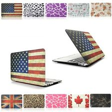 "11 Colors Laptop Rubberized Hard Case Cover For Macbook 11"" Air 13 15 Pro Retina"