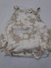 Pili Carrera baby girls floral linen romper 6 months,12 months and 18 months nwt