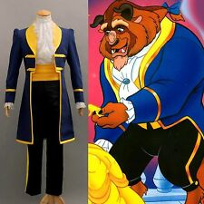 NEW Halloween Costume NEW Beauty and the Beast Prince Adam Cosplay Costume