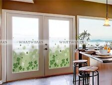 Waterproof PVC Self-Adhesive Anti UV Frosted Glass Window Film Wall Sticker A55