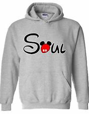 Soul Cartoon HOODIE Sweatshirt Sweater Hooded St Valentine's Day Gift For Him