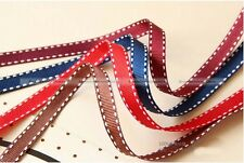 "50 Yards 3/8""10mm Satin Edge Grosgrain Ribbon Bow Craft Wedding Baking Decor"