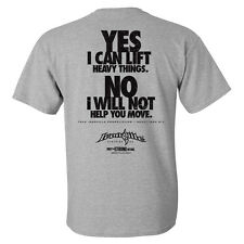 Yes I Can Lift Heavy Things Powerlifting T-Shirt by Ironville Clothing