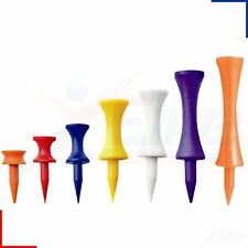 Mixed Plastic Castle Golf Tees - Various Quantities Available ***FREE UK P+P***.