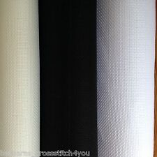 "14ct DMC AIDA FABRIC - 14"" X 13"" CHOICE OF 3 COLOURS FROM THE DROP DOWN BOX"