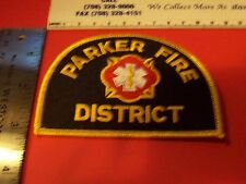 Fire Patch   Colorado State New  Parker Fire District  Fire Dept.