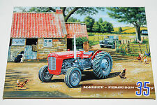 Massey Ferguson Tractor Fridge Magnets Various Tractor Pictures Vintage Look NEW