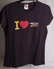 Official AFL West Coast Eagles Ladies Heart Tee