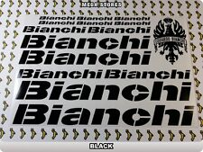BIANCHI Stickers Decals Bicycles Bikes Cycles Frames Forks Mountain MTB BMX 60F