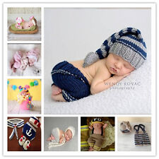 Newborn Baby Girls Boys Crochet Knit Costume Photo Photography Prop Outfit Hot