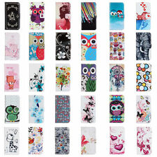 Various Patterns PU Leather Wallet Flip Case Cover for Samsung Galaxy S2 i9100