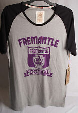 First 18 Official AFL Fremantle Dockers Mens Vintage Tee