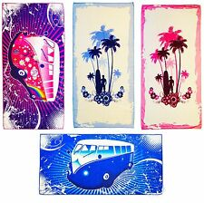 Large Microfibre Beach Bath Towel Sports Travel Camping Gym Lightweight Holiday