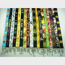 Cartoon Game Japanese Anime Lanyard Strap Badge ID Running Cell Holder Key Chain