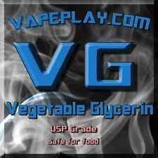 Vegetable Glycerin USP food safe ejuice e-juice 10ml - 200ml By Vapeplay.com