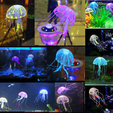 New Tank Ornament Swim Artificial Glowing Effect Jellyfish Jar Decoration Decor