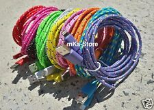 NEW 6ft Braided USB Charger Cable Cord for Apple Lightning iPhone 5/6s/Plus/iPod