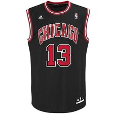 New Joakim Noah # 13 Chicago Bulls Adidas Replica Youth Black NBA Jersey