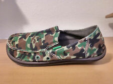 """Sanuk Boys """"Army Brat"""" Sandals Brand New with Tags Slip-On Canvas Many Sizes"""
