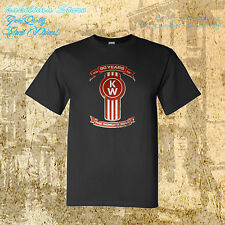 "new KENWORTH ""90 Years"" Truck Logo Mens Trucker T-shirt peterbilt mack M to 4XLT"