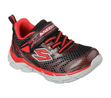 Skechers Sports Black Red Rive Boys Athletic Sneakers Shoes size 11-3