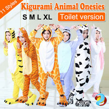 Kigurumi Animal Onesies Adult Kids Cosplay Costume Pyjamas Pajamas Sleepwear