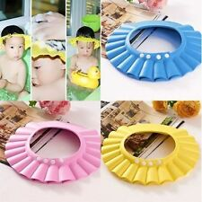 Hot A djustable Baby Kids Shampoo Bath Bathing Shower Cap Hat Wash Hair Shield