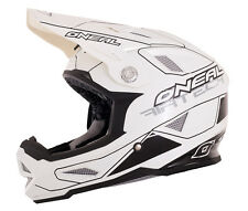 Oneal MTB Airtech AT-1 Full Face White Black BMX Downhill Mountain Bike Helmet