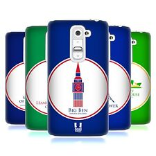 HEAD CASE DESIGNS LANDMARKS AND MONUMENTS HARD BACK CASE FOR LG G2 MINI D618