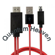 4M LONG MICRO USB MHL to HDMI HDTV ADAPTER CABLE FOR SAMSUNG GALAXY SERIES