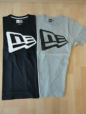 NEW ERA T-SHIRT ESSENTIAL FLAG GRAU SCHWARZ S M L XL 2XL SONDERANGEBOT TOP + NEU