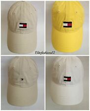 Tommy Hilfiger Unisex Baseball Cap Large Flag /Small Flag Yellow / White / Beige