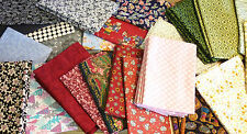 FABRIC MATERIAL REMNANT QUILTING COTTON CRAFT MIXED DESIGNS FQ MANY CHOICES