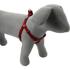 Adjustable Padded Nylon Harness Petface Comfort Dog Puppy Walking Training Red