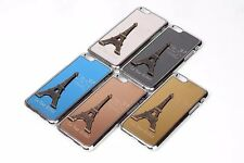 "Luxury Metal+PC Hard Case 3D Embossed Eiffel Tower iPhone 6 4.7"" Cover 5 Colors"