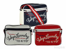 Tokyo Laundry Shoulder Messenger Bag School Work Gym Bag Mens Ladies Unisex Bags