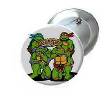 TMNT Teenage Mutant Ninja Turtles Pick Necklace Mirror Magnet Button