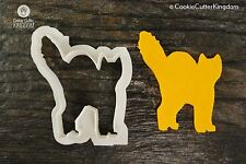 Halloween Scared Cat Cookie Cutter, 3D Printed