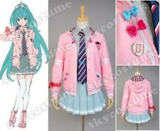 Vocaloid Project DIVA-f Miku Uniform Cosplay Costume US Size S-XL