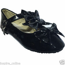 NEW GIRLS KIDS INFANT STRAP BUCKLE FORMAL SMART PARTY BACK TO SCHOOL SHOES PUMP