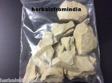 FULLER'S EARTH MULTANI MITTI CHUNKS clay packet size 200 gms shipping included
