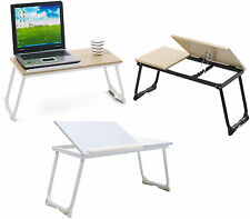 Small Portable Bed Sofa Tray Folding Stand Laptop Computer Notebook Table Desk