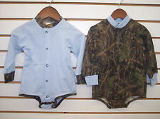Infant Boys True Timber Camo Onesies Size NB - 24 Months
