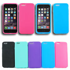 For iPhone 6 Plus TPU Wrap Up Phone Case cover w/ Built In Screen Protector