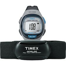 Timex   Heart Rate Monitor Chest Strap   Easy Trainer Sport Watch T5K738
